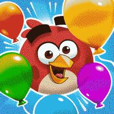 Hack Angry Bird Blast full vàng cho Android Apk icon