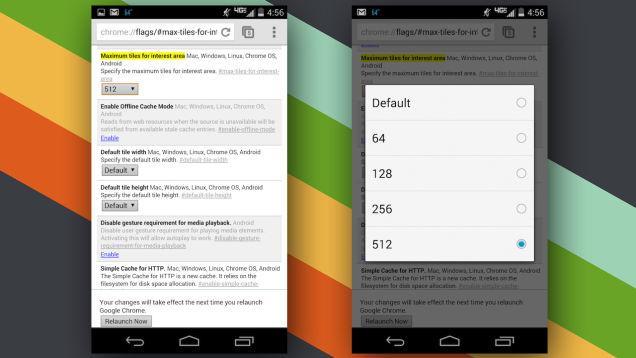 Cải thiện tốc độ load Chrome trên Android cực đơn giản