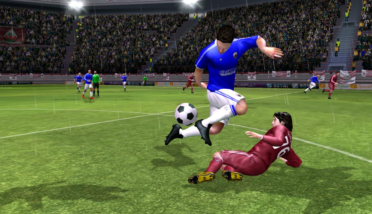 Chia sẻ vài kĩ thuật qua người trong game Dream League Soccer