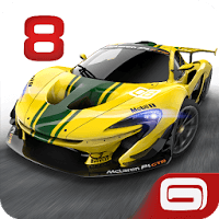 Hack Asphalt 8 | Mod Asphalt 8 full tiền, level up cho Android icon