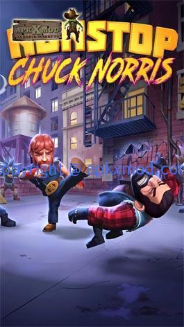 Hack game Nonstop Chuck Norris v1.3.5 - Đại Ca đường phố