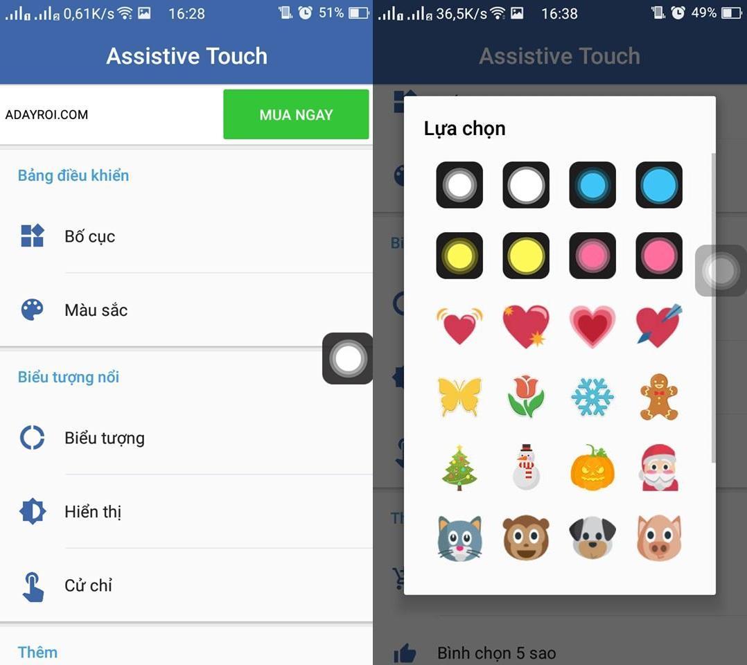 Hướng dẫn cài phím Home ảo cho máy Android chưa hỗ trợ