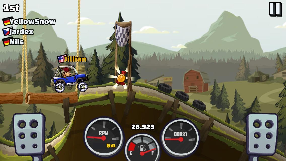 Tải Hack Hill Climb Racing 2 mod tiền miễn phí cho Android