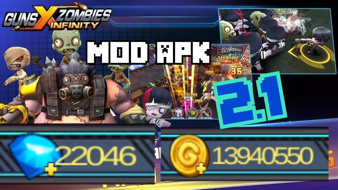 Tải Guns X Zombies hack tiền, mod kim cương cho Android