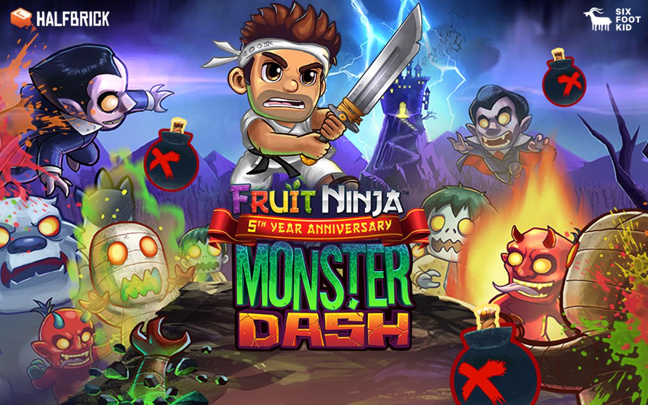 Tải Monster Dash Hack Mod mua đồ miễn phí
